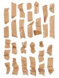 Rayas de la cinta adhesiva Foto de archivo