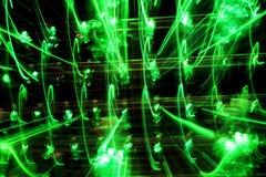 Rayas de la luz Foto de archivo libre de regalías