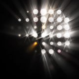 Rayas de la luz Fotografía de archivo libre de regalías