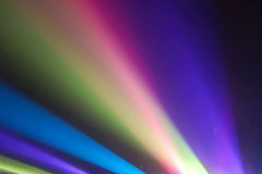 Rayas de la luz Imagen de archivo
