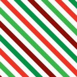 Rayas de la Navidad Imagen de archivo libre de regalías