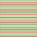 Rayas de la Navidad Fotografía de archivo