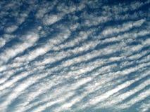 Rayas de la nube Fotografía de archivo libre de regalías