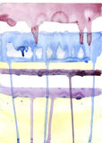 Rayas de la pintura Fotografía de archivo