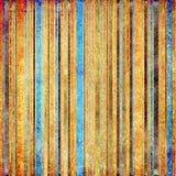 Rayas de la vendimia Imagenes de archivo