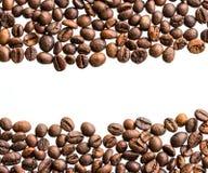Rayas de los granos de café Foto de archivo