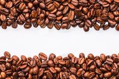Rayas de los granos de café Imágenes de archivo libres de regalías