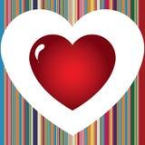 Rayas del amor Imagenes de archivo