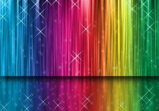 Rayas del color. Imagen de archivo
