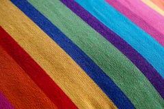 Rayas del material de la textura Imagen de archivo