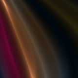 Rayas del rojo, del oro y de la plata de la luz Fotos de archivo