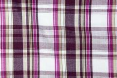 Rayas del rosa y de Violet Forming Checkered Pattern Fotografía de archivo libre de regalías