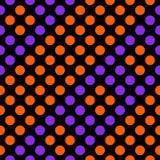 Rayas diagonales del modelo geométrico inconsútil de círculos Imagen de archivo libre de regalías