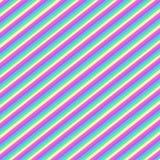 Rayas diagonales multicoloras, modelo inconsútil stock de ilustración
