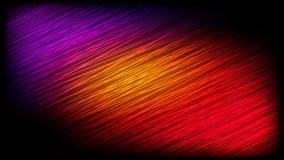 Rayas diagonales rojas, amarillas y púrpuras abstractas ilustración del vector