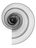 Rayas espirales Imágenes de archivo libres de regalías