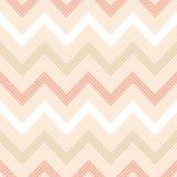 Rayas geométricas del zigzag del vector inconsútil Imagen de archivo