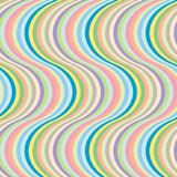 Rayas grandes de la onda Fotografía de archivo