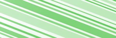 Rayas irregulares verdes y blancas Fotos de archivo