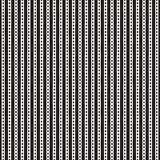 Rayas lineares gráficas con los puntos libre illustration