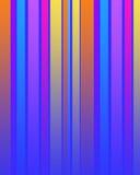 Rayas multi del color ilustración del vector