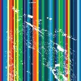 Rayas multicoloras Foto de archivo