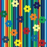 Rayas multicoloras Imágenes de archivo libres de regalías