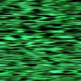 Rayas negras verdes finas del agua Foto de archivo libre de regalías