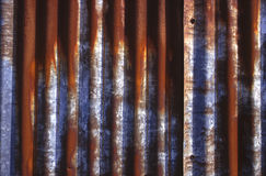 Rayas oxidadas Imagen de archivo