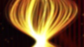 Rayas pálidas de oro animadas para el fondo almacen de video