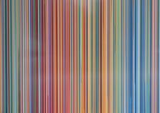 Rayas paralelas verticales modernas multicoloras ilustración del vector