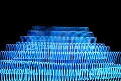 Rayas que brillan intensamente Fotografía de archivo