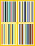 Rayas retras Imagen de archivo libre de regalías