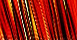 Rayas rojas abstractas Imagen de archivo libre de regalías