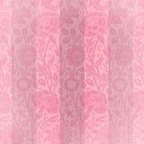 Rayas rosadas del terciopelo Foto de archivo