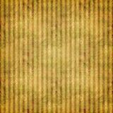 Rayas sucias sombreadas del oro Imagen de archivo
