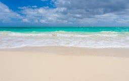 Rayas tropicales de la playa foto de archivo