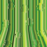 Rayas verdes Imagen de archivo libre de regalías