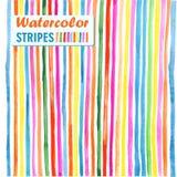 Rayas verticales coloreadas brillantes Imagen de archivo