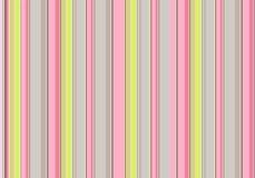 Rayas verticales del rosa, verdes y grises, fondo del vector del vintage foto de archivo