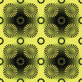 Rayas y modelo de los círculos Foto de archivo libre de regalías