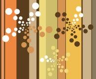 Rayas y puntos Imagen de archivo libre de regalías