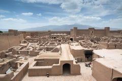 Rayen Castle arg-ε Rayen σε περσικό, Ιράν Στοκ εικόνα με δικαίωμα ελεύθερης χρήσης