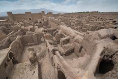Rayen Castle arg-ε Rayen σε περσικό, Ιράν Στοκ εικόνες με δικαίωμα ελεύθερης χρήσης