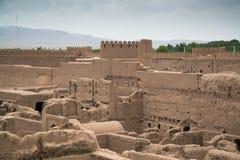 Rayen Castle arg-ε Rayen σε περσικό, Ιράν Στοκ Εικόνα