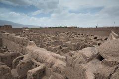 Rayen Castle arg-ε Rayen σε περσικό, Ιράν Στοκ φωτογραφίες με δικαίωμα ελεύθερης χρήσης
