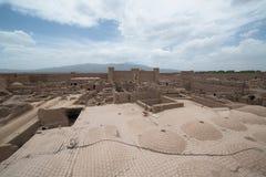 Rayen Castle arg-ε Rayen σε περσικό, Ιράν Στοκ φωτογραφία με δικαίωμα ελεύθερης χρήσης