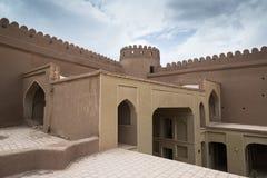 Rayen Castle, arg-ε Rayen σε περσικό, Ιράν Στοκ Εικόνα