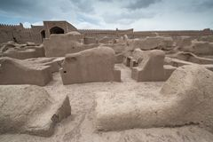 Rayen Castle, arg-ε Rayen σε περσικό, Ιράν Στοκ φωτογραφία με δικαίωμα ελεύθερης χρήσης