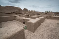 Rayen Castle, arg-ε Rayen σε περσικό, Ιράν Στοκ φωτογραφίες με δικαίωμα ελεύθερης χρήσης